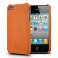 SGP iPhone 4 Nature Just Leather Case Series [Nature Orange] (SGP07983)